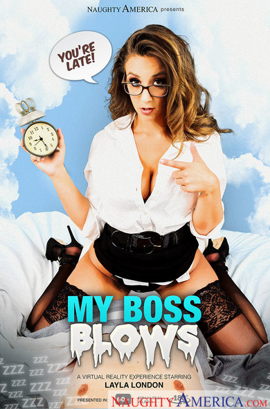 My Boss Blows VR Porn