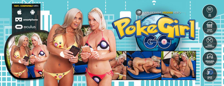 PokeGirl Go VR Porn