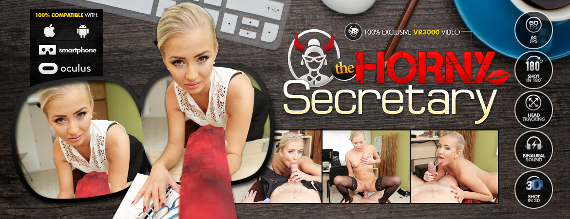 The Horny Secretary VR Porn