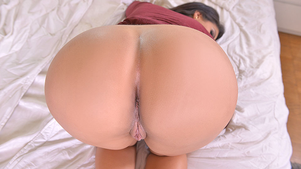 Latina Booty Call - Toying with a Vibrator Curvy Ass Up VR Porn