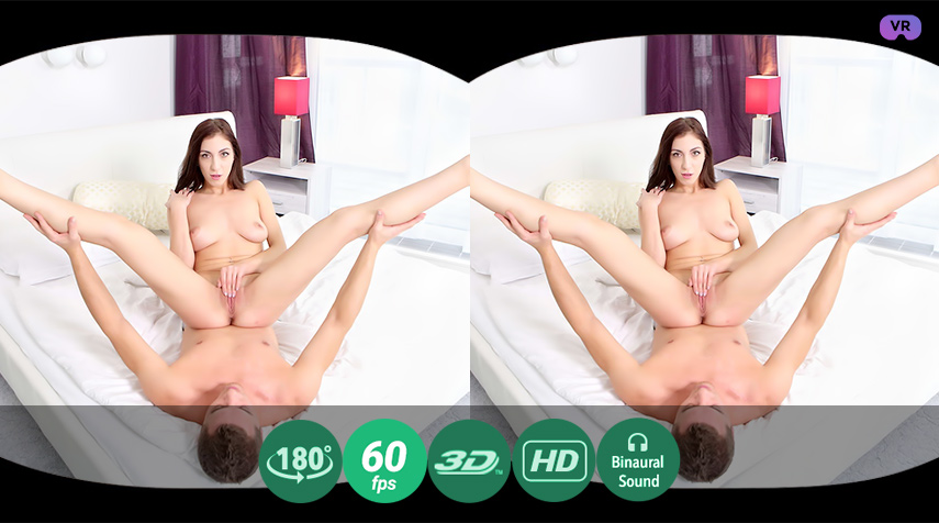 Cum on round butt VR Porn