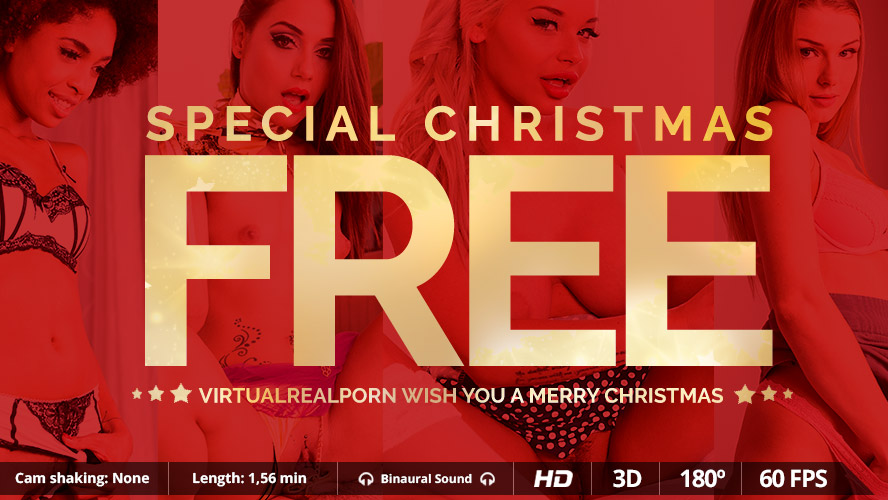 Christmas Special FREE VR Porn video