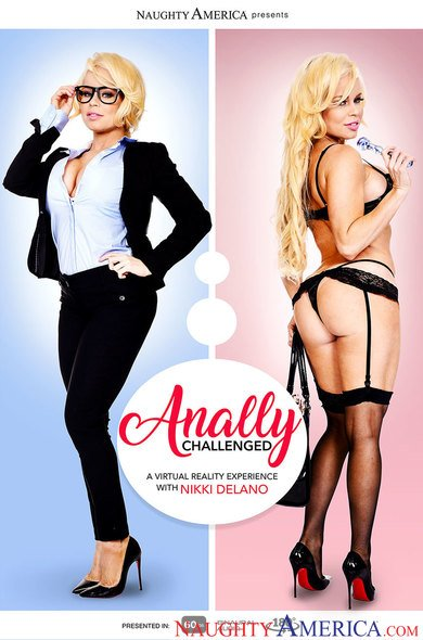 Nikki Delano in Anally Challenged VR Porn